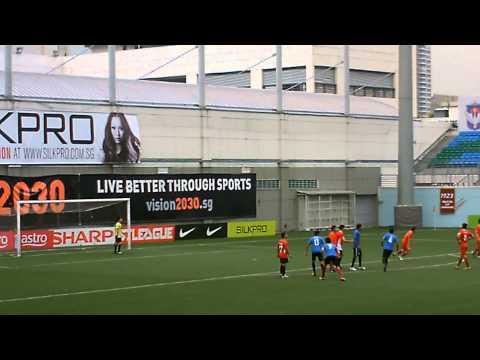 Team Orange vs Avengers 06-10-12 @ Jalan Besar Stadium (Raw Video)