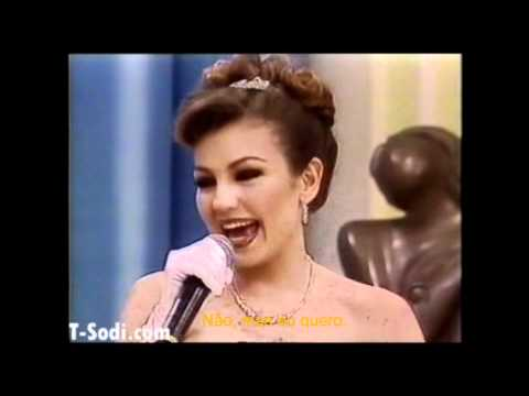 Thalía no programa da Ana Maria Braga - 1998 ~ www.anastasiabrasil.com