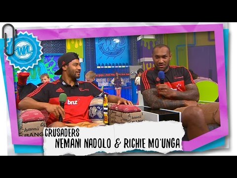 Crusaders Nemani Nadolo & Richie Mo'unga Interview | What Now