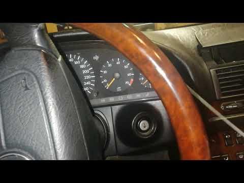 Снятия приборной панели Mercedes w140.
