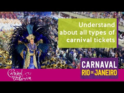 Understand about all types of carnival tickets