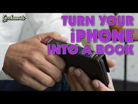 Turn your iPhone 11 Pro into a BOOK !!!