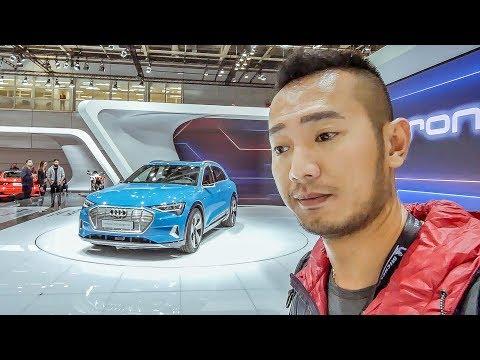 Chi tiết xe điện Audi E-Tron 55 Quatro - Kẻ huỷ diệt của Tesla