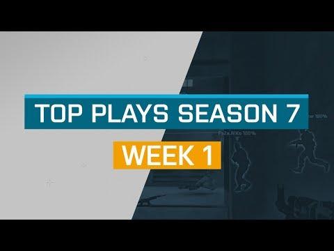 CS:GO - Top Plays: Week 1 - ESL Pro League Season 7