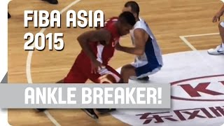 Behind-the-Back Ankle Breaker - 2015 FIBA Asia Championship