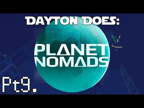 Planet Nomads : Pt9. First Steps In The Desert Biome. Silver/Aluminum/Cobalt Ho! (Steam PC Gameplay)