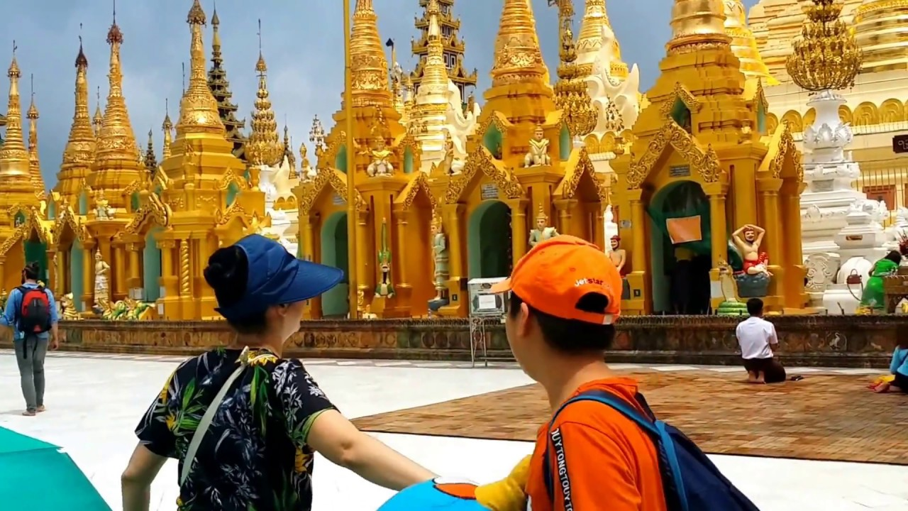 Kinh nghiệm du lịch Myanmar 8/2018 - Yangon phần 2: Shwedagon pagoda