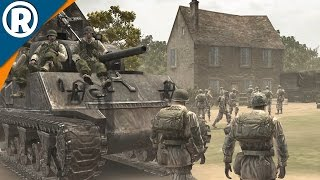 CARENTAN DEFENSE | Company of Heroes Campaign Gameplay 5
