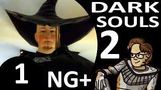 Let's Play Dark Souls 2 New Game Plus Part 1 - Rhoy the Explorer, Royal Rat Vanguard (Hex, Blind)
