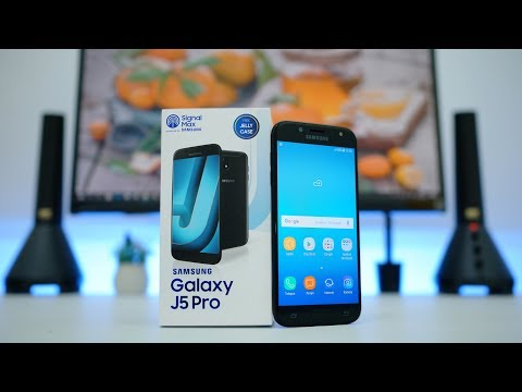 Unboxing Samsung Galaxy J5 Pro Indonesia
