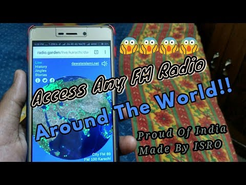[HINDI] How To Access All Around The World Fm Radios!!