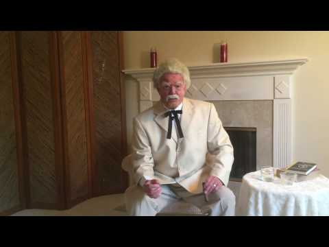 Mark Twain Intimate Interview on election returns