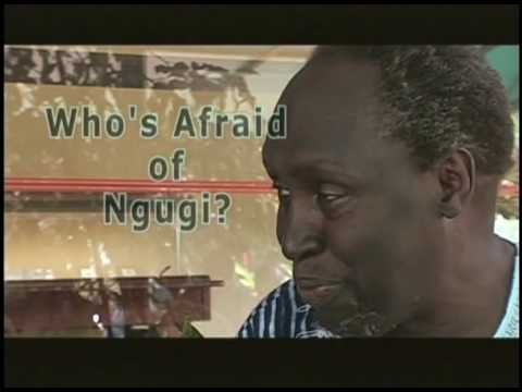 a biography and life work of ngugi va tiongo a kenyan writer By socrates mbamalu on october 3, 2017 — celebrated kenyan writer ngũgĩ wa thiong'o has been tipped to win the nobel prize in literature this year at the odds of 4/1 last year the nobel prize committee awarded the nobel prize in literature to bob dylan, leaving many shocked.