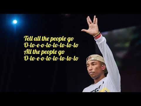 Los Unidades feat. Pharrell Williams & Jozzy - E-Lo (Lyric Video)
