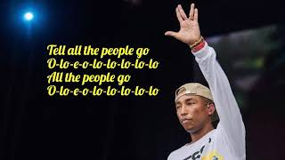 Los Unidades feat. Pharrell Williams & Jozzy - E-Lo (Lyric Video)