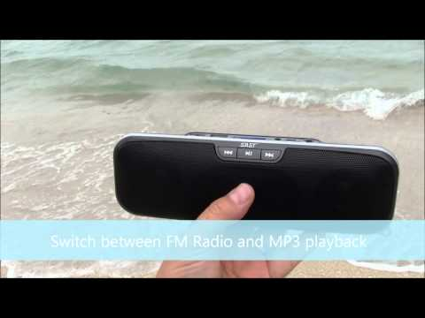 Portable Outdoor MP3 Stereo System. Amazing Sound!