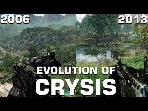 Evolution of Crysis (2006-2013)