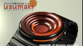 uzumaki concept watch @ tokyoflash