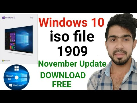 how to download windows 10 1909 disc image (ISO File) - microsoft