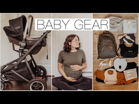 Minimalist Baby Gear Haul || Preparing For Our First Child