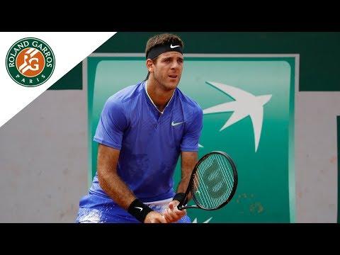 Juan Martin Del Potro - Top 5 |Roland-Garros 2017