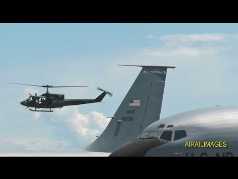 Military Aircraft Flights at Fairchild AFB Skyfest 31 May 2014