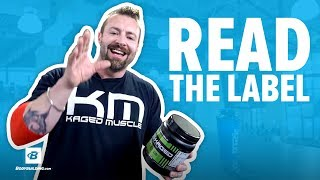 How to Shop for the Perfect Pre Workout Supplement | Kris Gethin