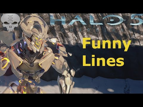 Lines of Halo 5 (Funny Dialogue)
