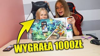 KTO PIERWSZY ZŁOŻY LEGO WYGRYWA 1000ZŁ!!