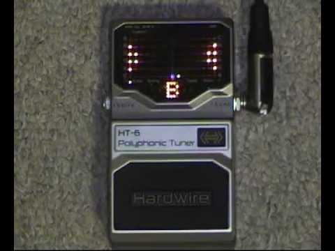 Demo - Hardwire HT-6 Polyphonic Tuner