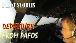 Pilot stories: Nice departure from Pafos, Cyprus