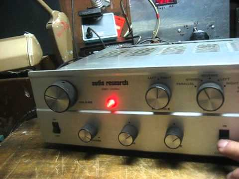 Audio Research SP-2 Preamp and
