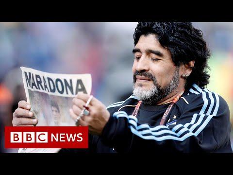 Diego Maradona: Argentina legend dies aged 60 - BBC News
