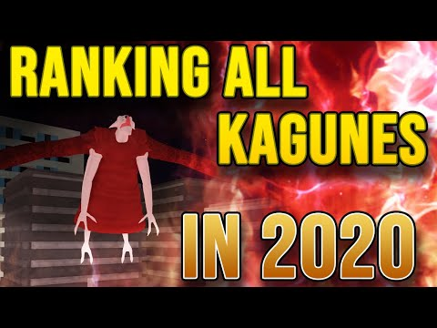 RANKING ALL KAGUNES IN RO-GHOUL 2020!!   Ro-Ghoul Tier List!