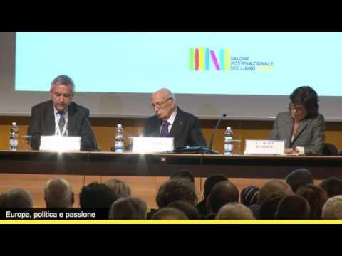 Giorgio Napolitano: perché l'Europa è in crisi?