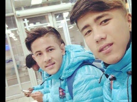 NEPAL U19 Arrives Bishkek, Kyrgyz Republic !!!