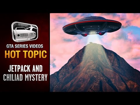 GTA 5 - Jetpack and the Mystery of Mount Chiliad - Hot Topic #3