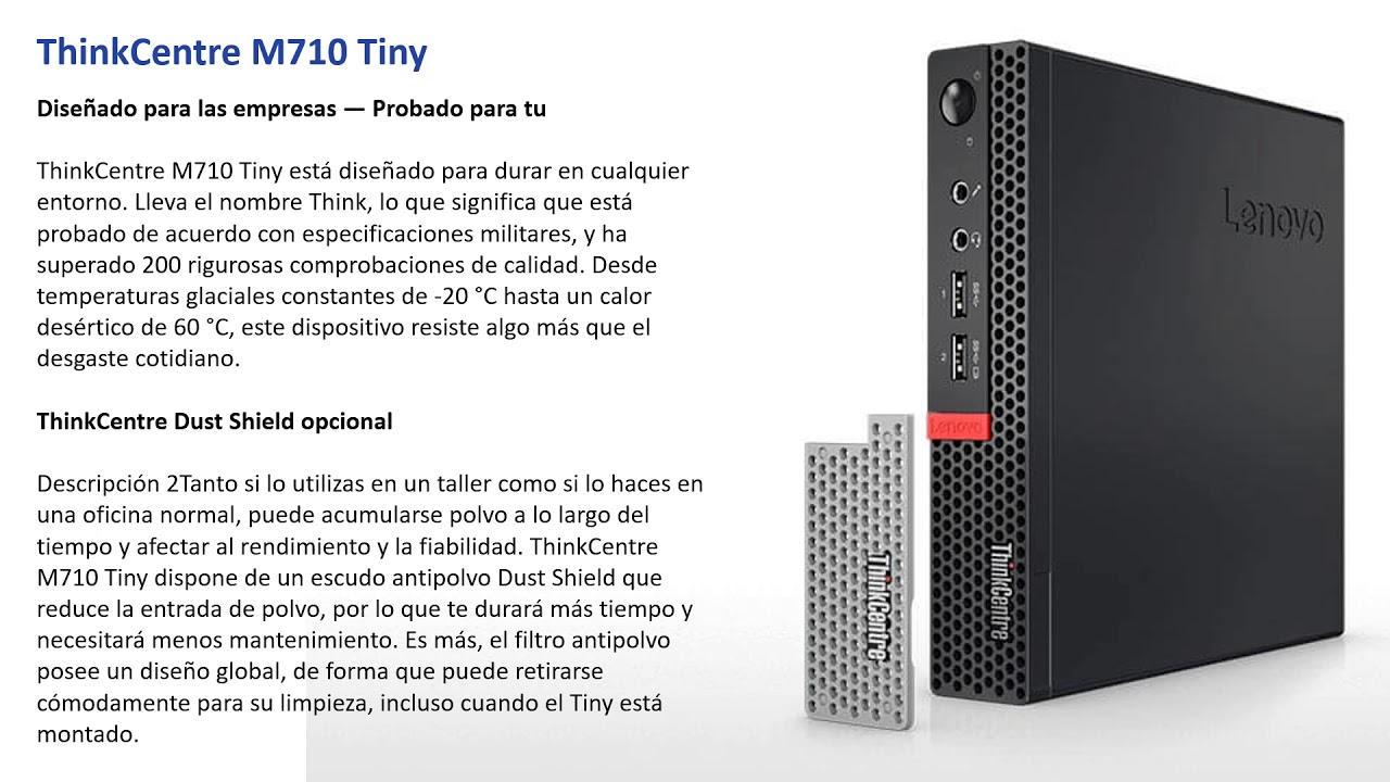 Mini PC Lenovo M710q MFF - Lenovo ThinkCentre M710 Tiny