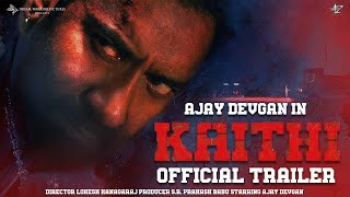 Kaithi   Official Concept Trailer   Ajay Devgn   Lokesh Kanagaraj   Dharmendra Sharma   Remake movie
