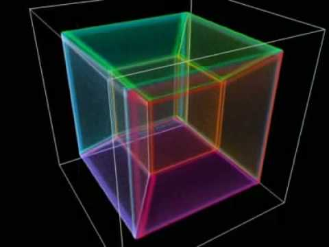 Hyperspace 3d Wallpaper Tesseract Cubo 4d Youtube