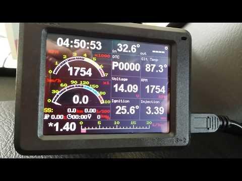OBD Multi-Info Display On A Honda RD1 CR-V