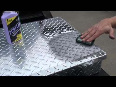 How To Polish Diamond Plate The Easy Way By Hand 2 Youtube