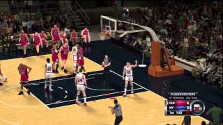 NBA 2K12 Gameplay (PS3) - 1993 Chicago Bulls at 1972 New York Knicks - Twitter @NCAAdynasty