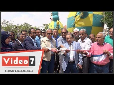 محافظ السويس يفتتح مشتل السلام بمناسبة عيد تحرير سيناء