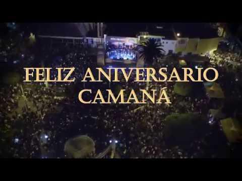 CAMANÁ ESTA DE ANIVERSARIO 2017