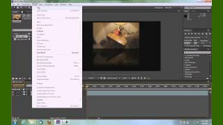 Adobe After Effects add a reflection and shadow to photo or video