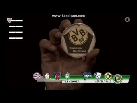 Auslosung Dfb Viertelfinale