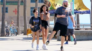FUNNY Wet Fart Prank at the Beach!! SHE JUMPED so high!