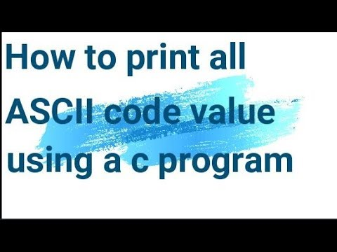 C Program To Convert Ebcdic To Ascii