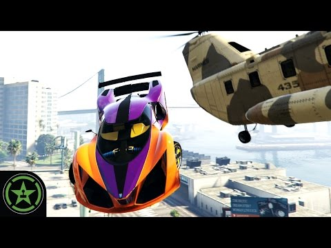 Let's Play - GTA V - Car Catching